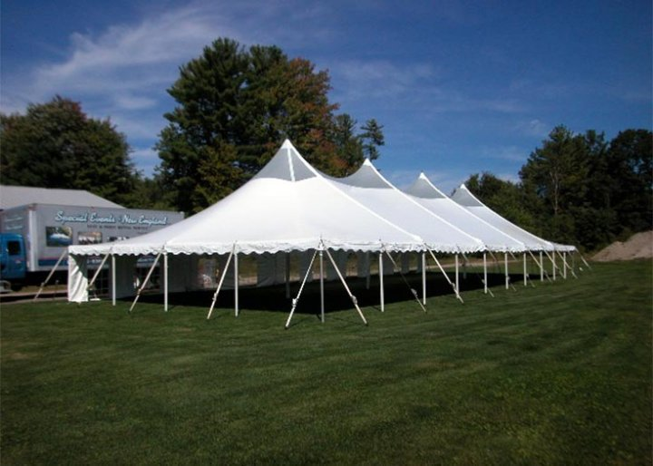 View Some Of Our 40 Translucent Peak Century Tents