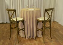 Antique Cross-Back Stools