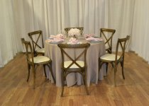 Antique Cross-Back Chairs
