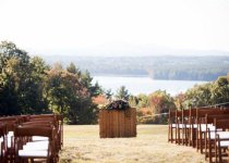 Fruitwood Garden Chairs for Ceremony