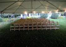 Natural Garden Chairs for Ceremony