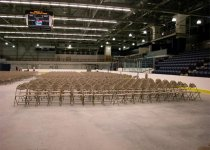 Neutral Comfort Back Chairs for Commencement Ceremony