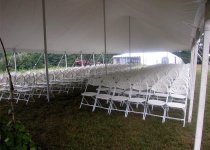 Wedding White Comfort  Back Chairs for Ceremony