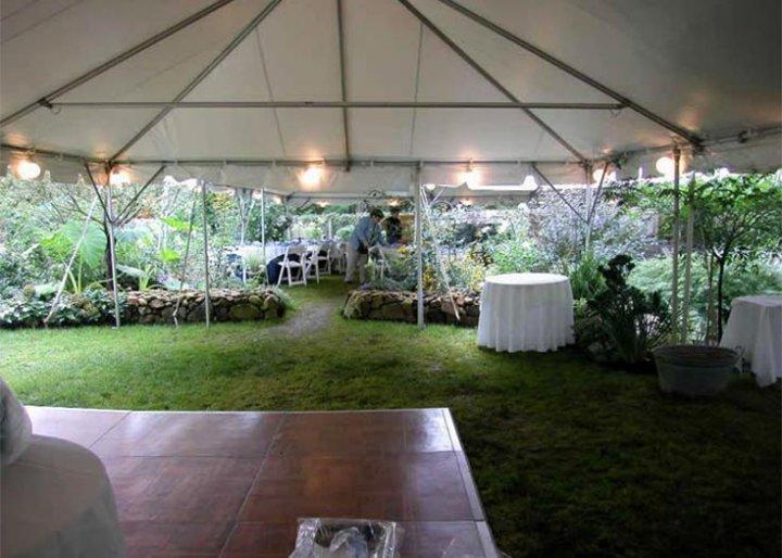 Globe String Lighting & View Different Tent Interiors | Lighting Fans u0026 Heater Rentals