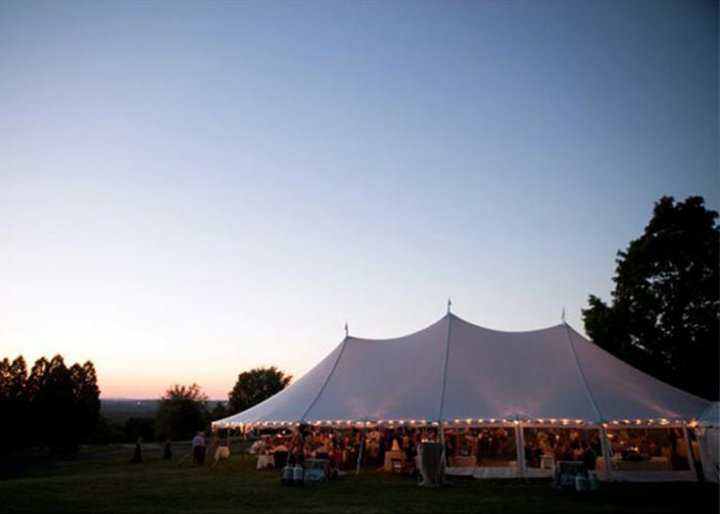 View Different Tent Interiors | Lighting, Fans & Heater Rentals