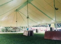 40 x 80 Party Tent  Interior