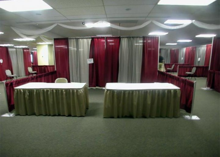 View Our Different Pipe & Drape Rental Options