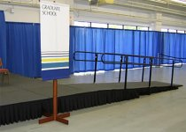Stage With Handicap Ramp