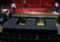 Stage for a Fashion Show