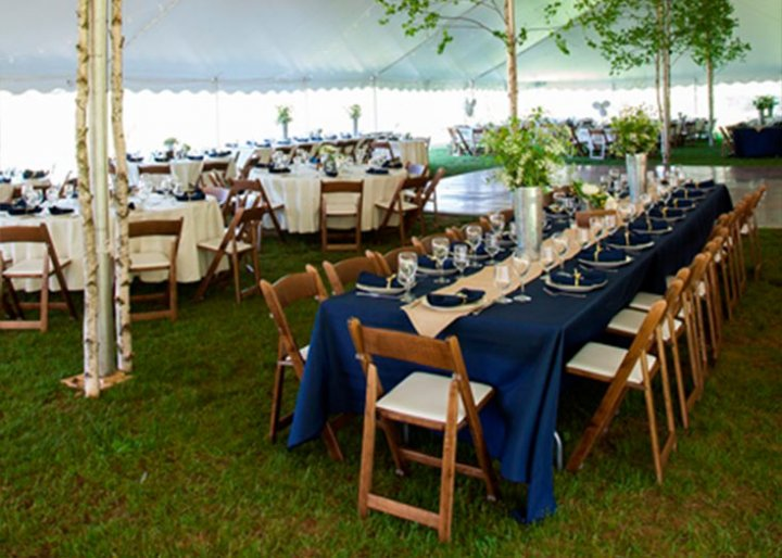 View table rental options table rentals for weddings for Table rentals