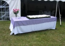 8' Place Card Table