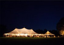 Tidewater Sailcloth Tents At Night
