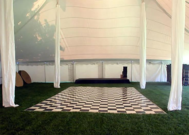 Black Amp White Checkerboard Dance Floor Rentals Nh Ma Me