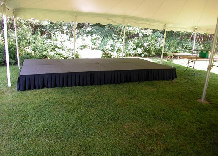 Carpeted Stages