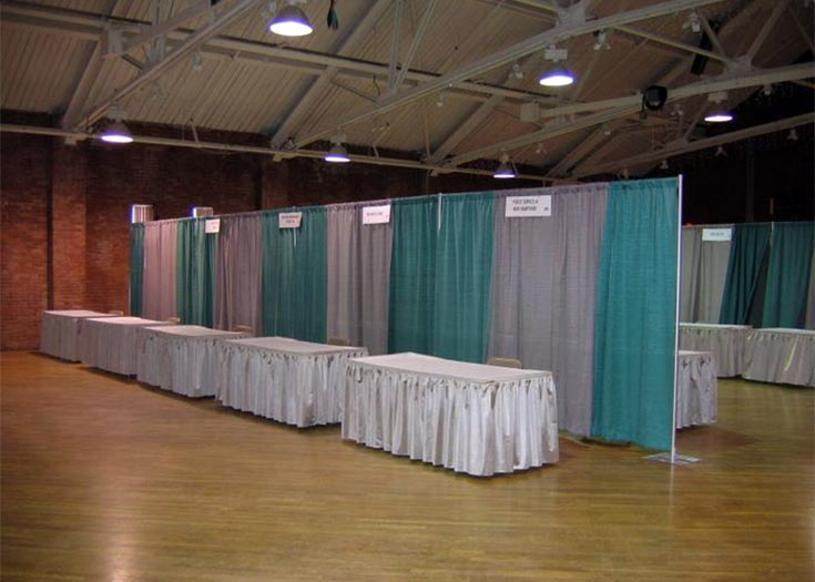 Exhibition Booth Rentals : Rent everything for your next trade show expo booth rental