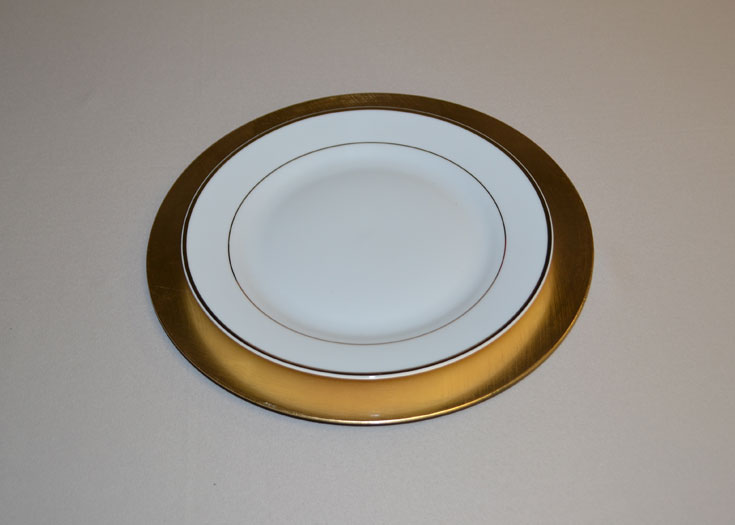 Lacquer Charger Plates
