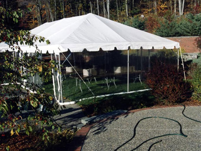 Clear Sidewalls & Clear Tent Sidewall Rental | Special Events of New England