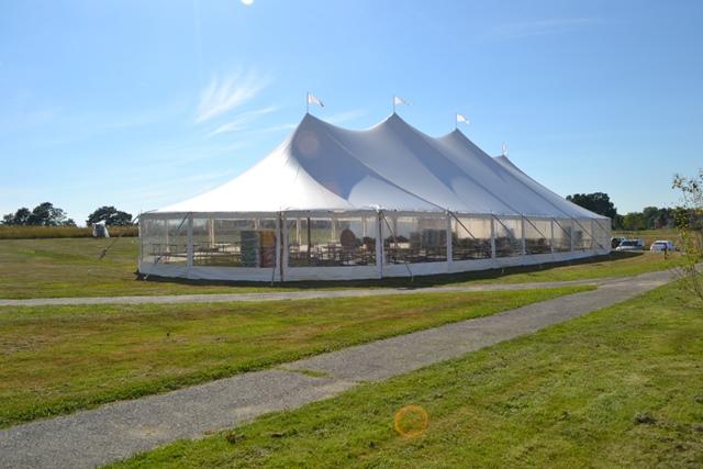 Sailcloth Tent Sidewalls & Tidewater Sailcloth Sidewall Rentals | Tent Sidewall Rentals